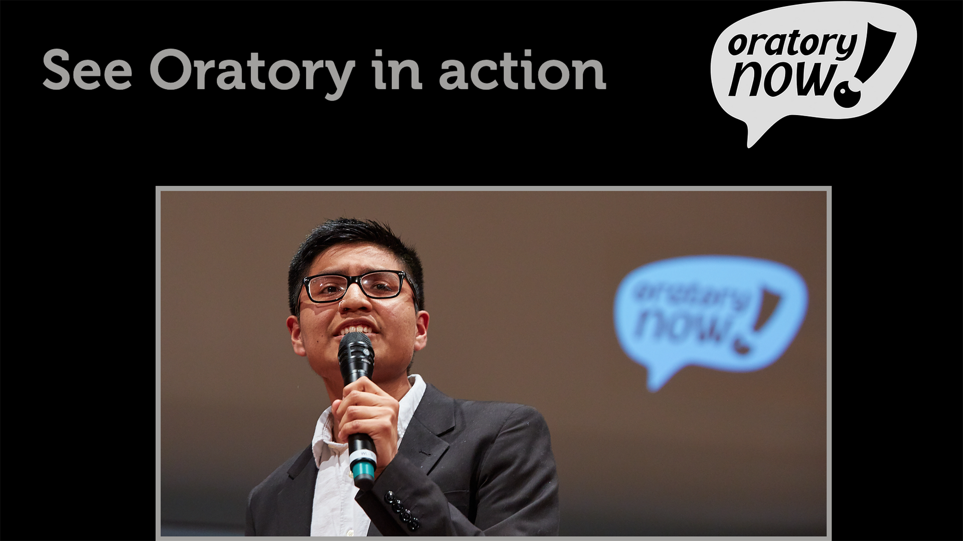Oratory in Action Featured Image